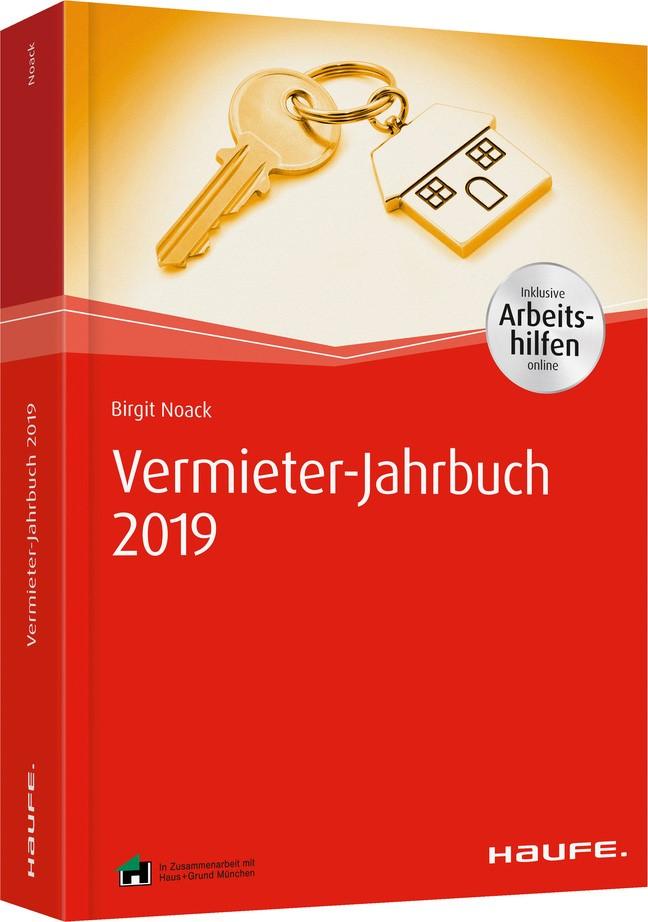 Vermieterwissen 2019 - inkl. Arbeitshilfen online | Noack, 2018 | Buch (Cover)