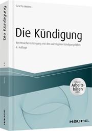Die Kündigung Herms 4 Auflage 2018 Buch Beck Shopde