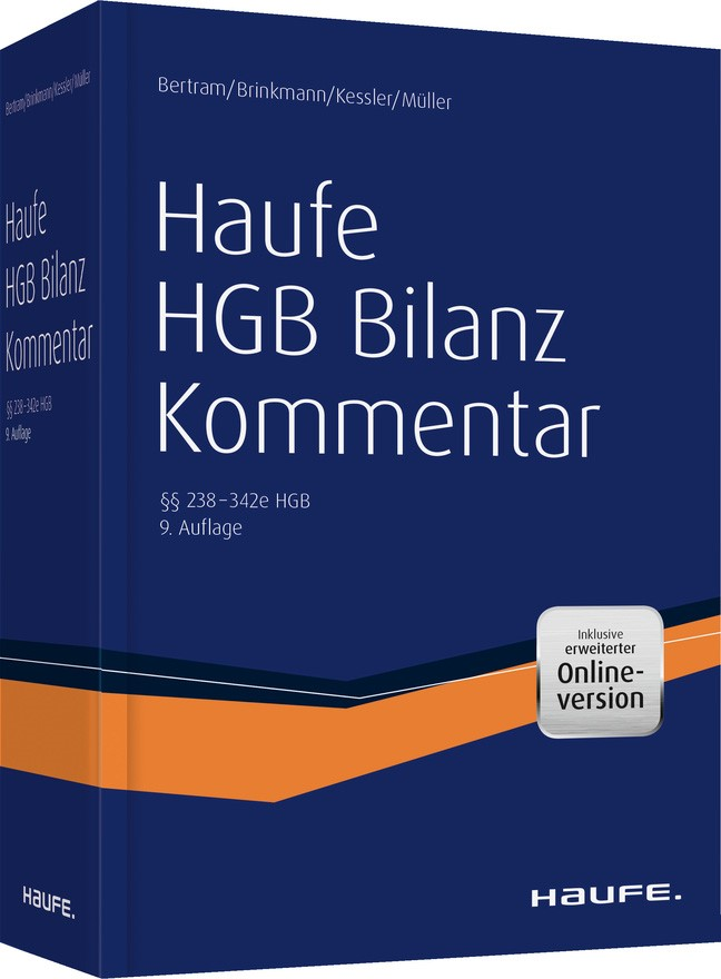 Haufe HGB Bilanz-Kommentar | Bertram / Brinkmann / Kessler / Müller, 2018 (Cover)