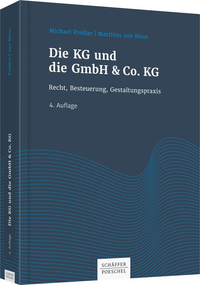 Die KG und die GmbH & Co. KG | Preißer / Rönn | 4., überarbeitete und aktualisierte Auflage, 2018 | Buch (Cover)