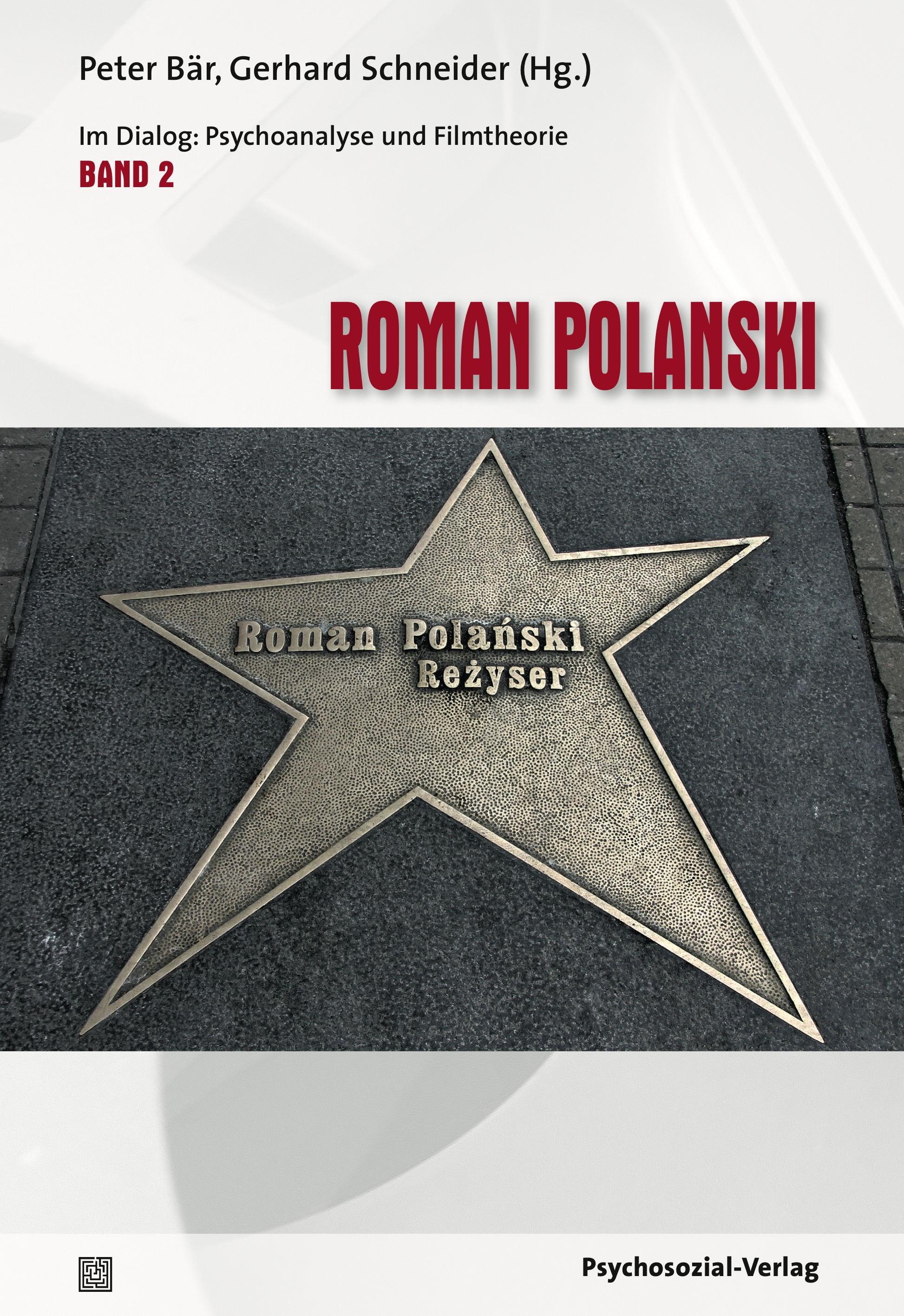 Roman Polanski   Bär / Schneider, 2018   Buch (Cover)