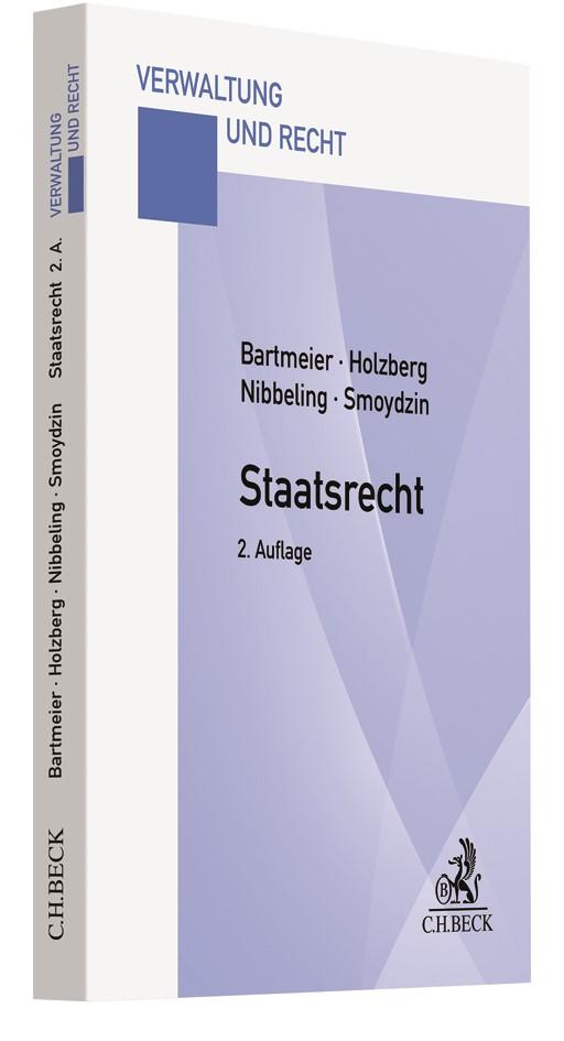 Staatsrecht | Bartmeier / Holzberg / Nibbeling / Smoydzin | 2. Auflage, 2018 | Buch (Cover)