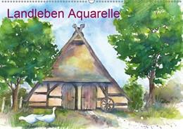 Abbildung von Krause | Landleben Aquarelle (Wandkalender 2019 DIN A2 quer) | 2. Edition 2018 | 2018