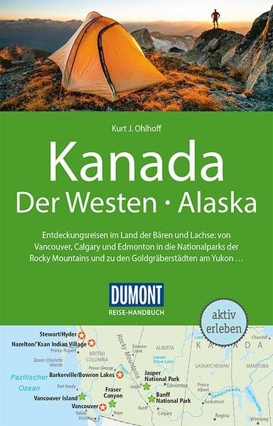DuMont Reise-Handbuch Reiseführer Kanada, Der Westen, Alaska   Ohlhoff   4., aktualisierte Auflage, 2018   Buch (Cover)