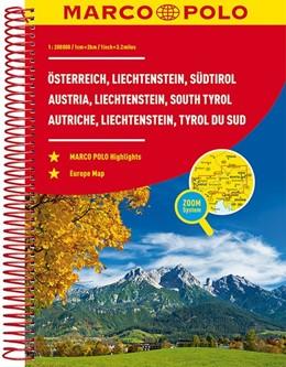 Abbildung von MARCO POLO Reiseatlas Österreich, Liechtenstein, Südtirol 1:200 000 | 4. Auflage | 2018
