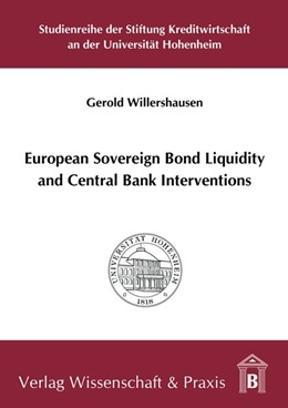 Abbildung von Willershausen | European Sovereign Bond Liquidity and Central Bank Interventions | 2018