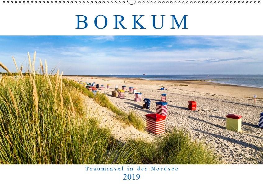 Abbildung von Dreegmeyer | BORKUM Trauminsel in der Nordsee (Wandkalender 2019 DIN A2 quer) | 2. Edition 2018 | 2018