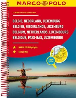 Abbildung von MARCO POLO Reiseatlas Benelux, Belgien, Niederlande, Luxemburg 1:200 000 | 6. Auflage, Laufzeit bis 2022 | 2018