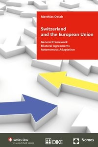 Switzerland and the European Union | Oesch, 2018 | Buch (Cover)