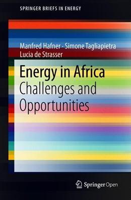 Abbildung von Hafner / Tagliapietra | Energy in Africa | 1. Auflage | 2018 | beck-shop.de