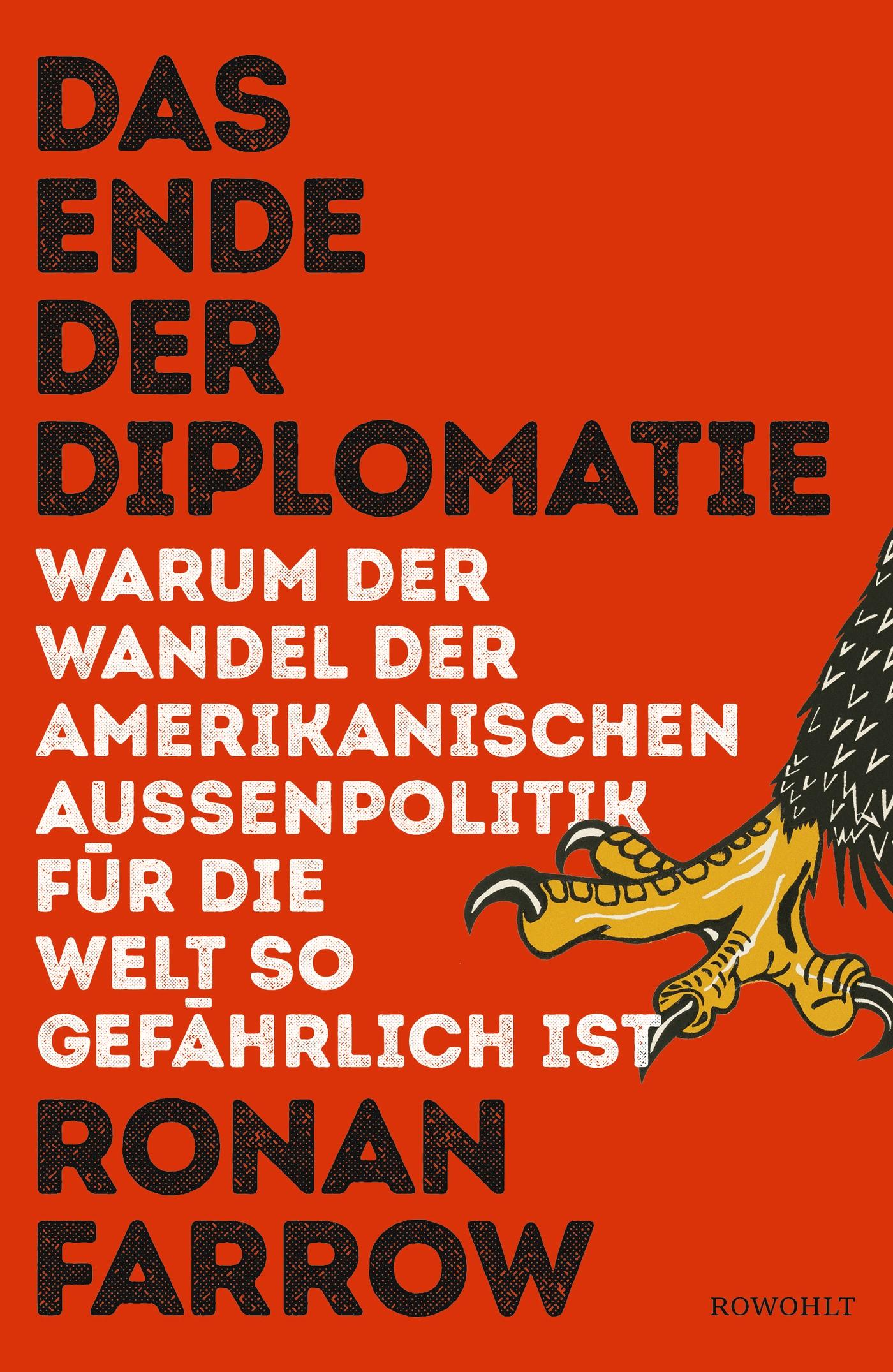 Das Ende der Diplomatie | Farrow, 2018 | Buch (Cover)