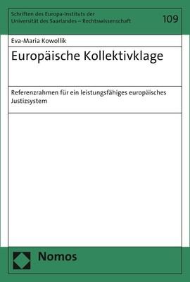 Europäische Kollektivklage | Kowollik, 2018 | Buch (Cover)
