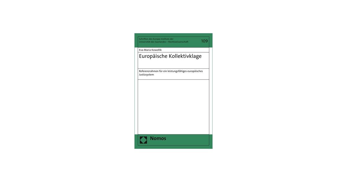 Europäische Kollektivklage | Kowollik, 2018 | Buch | beck-shop.de