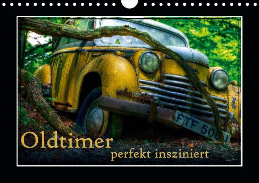Oldtimer perfekt insziniert (Wandkalender 2019 DIN A4 quer)   Adams   3. Edition 2018, 2018 (Cover)