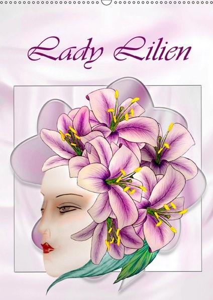 Abbildung von Djeric | Lady Lilien (Wandkalender 2019 DIN A2 hoch) | 3. Edition 2016 | 2016