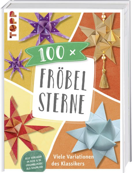 100 x Fröbelsterne, 2018 | Buch (Cover)