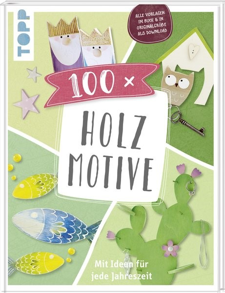 100 x Holzmotive, 2018 | Buch (Cover)