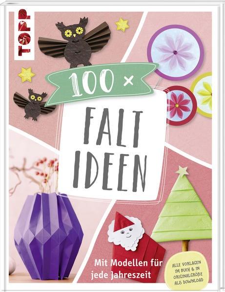 100 x Faltideen, 2018 | Buch (Cover)