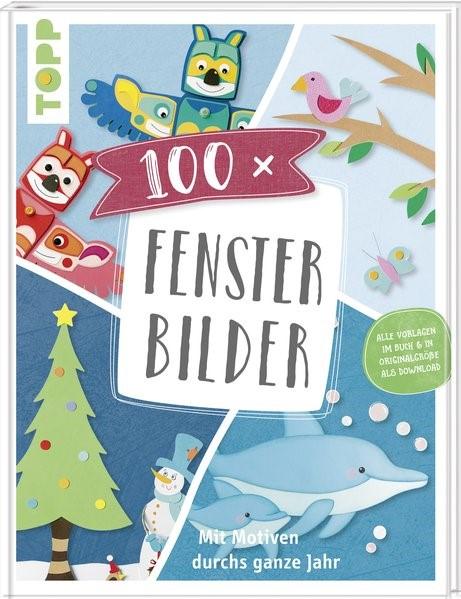 100 x Fensterbilder, 2018   Buch (Cover)