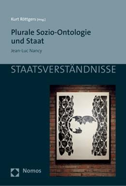 Abbildung von Röttgers   Plurale Sozio-Ontologie und Staat   1. Auflage   2018   114   beck-shop.de