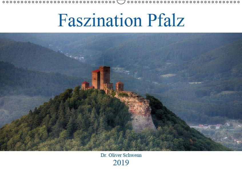 Faszination Pfalz (Wandkalender 2019 DIN A2 quer)   Oliver Schwenn   2. Edition 2018, 2018 (Cover)