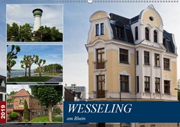 Abbildung von Boettcher | Wesseling am Rhein (Wandkalender 2019 DIN A2 quer) | 2. Edition 2018 | 2018 | Wesseling - Industrie und Kult...