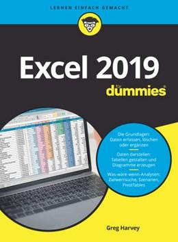 Abbildung von Harvey   Excel 2019 für Dummies   1. Auflage   2019   beck-shop.de