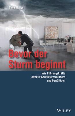 Abbildung von Müller | Bevor der Sturm beginnt | 1. Auflage | 2018 | beck-shop.de