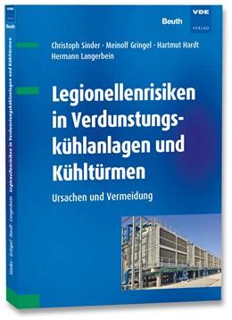 Abbildung von Sinder / Gringel | Legionellenrisiken in Verdunstungskühlanlagen und Kühltürmen | 1. Auflage | 2019 | beck-shop.de