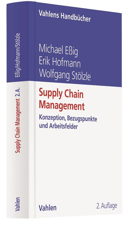 Supply Chain Management | Eßig / Hofmann / Stölzle | 2. Auflage, 2019 | Buch (Cover)