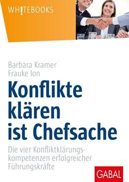 Abbildung von Kramer / Ion   Konflikte klären ist Chefsache   2018   Die vier Konfliktklärungskompe...