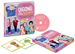 Abbildung von Schreiner / Sebková-Thaller | Qigong mit Kindern, m. Audio-CD | 2018 | Ausgeglichen und gestärkt mit ...