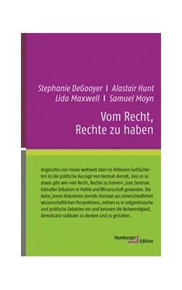 Abbildung von Hunt / Moyn   Vom Recht, Rechte zu haben   1. Auflage   2018   beck-shop.de