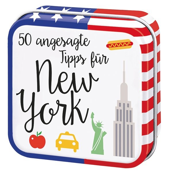 Abbildung von 50 angesagte Tipps für New York | 1. Auflage | 2018