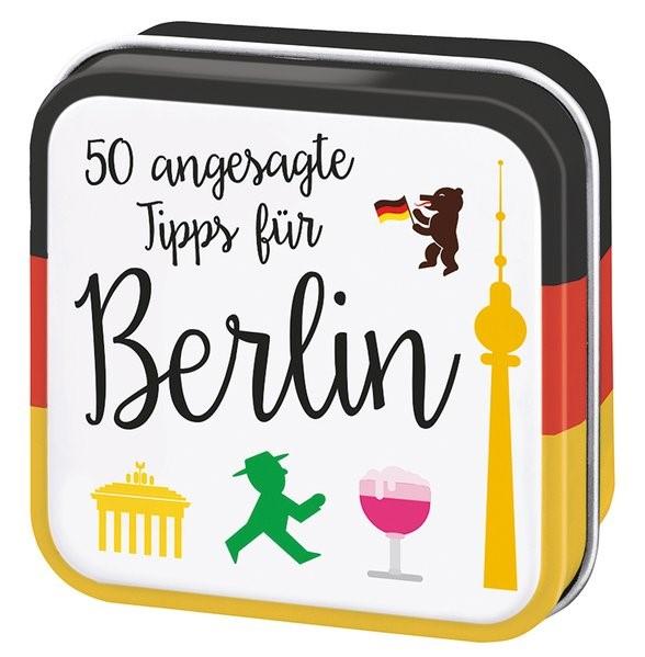 50 angesagte Tipps für Berlin | 1. Auflage, 2018 | Buch (Cover)
