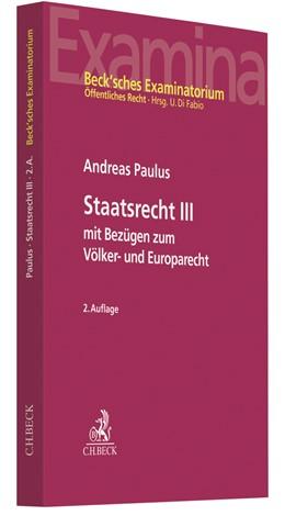 Abbildung von Paulus | Staatsrecht III | 2. Auflage | 2021 | beck-shop.de