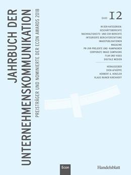 Abbildung von Henzler / Kirchhoff / Afhüppe   Jahrbuch der Unternehmenskommunikation 2018   2018   Band 12   12