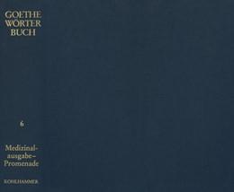 Abbildung von Berlin-Brandenburgischen Akademie der Wissenschaften / Akademie der Wissenschaften in Göttingen / Heidelberger Akademie der Wissenschaften (Hrsg.)   Goethe Wörterbuch, Band 6, Leinen   2018   Medizinalausgabe - Porträt