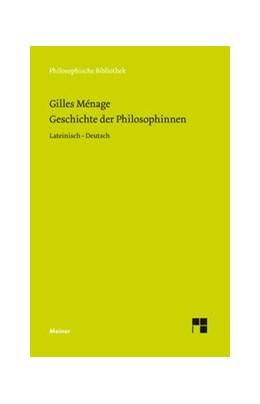 Abbildung von Ménage / Kaiser / Ricklin | Geschichte der Philosophinnen | 2019 | 716