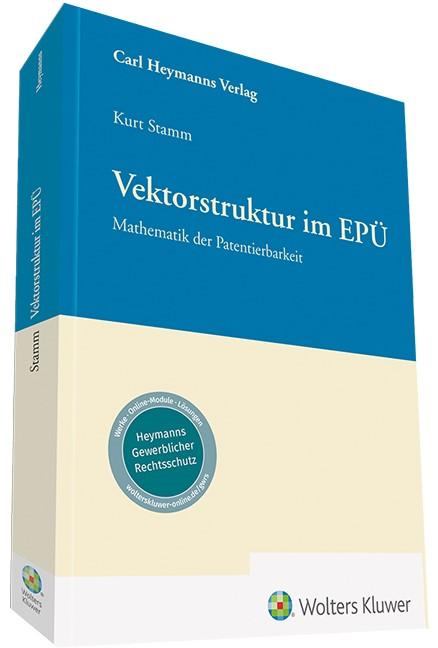 Vektorstruktur im EPÜ | Stamm | 2. Auflage, 2018 | Buch (Cover)
