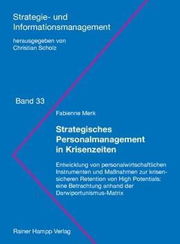 Abbildung von Merk | Strategisches Personalmanagement in Krisenzeiten | 2018 | Entwicklung von personalwirtsc... | 33
