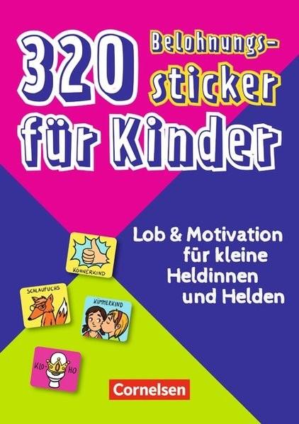 320 Belohnungssticker für Kinder, 2018 (Cover)
