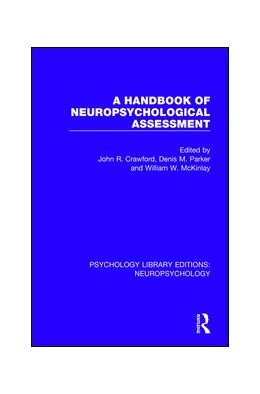 Abbildung von Crawford / Parker | A Handbook of Neuropsychological Assessment | 1. Auflage | 2018 | 3 | beck-shop.de