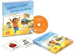 Abbildung von Hering | Leichter Deutsch lernen mit Musik-CD | 2018 | Lieder, Spiele, Reime zur Spra...