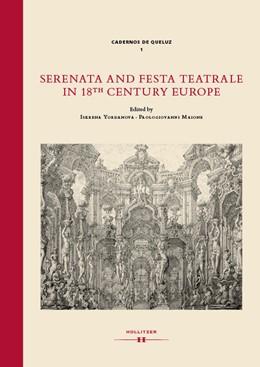 Abbildung von Yordanova / Maione   Serenata and Festa Teatrale in 18th Century Europe   2018