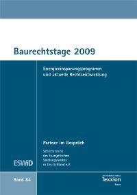 Abbildung von ESWiD | Baurechtstage 2009 | 2009