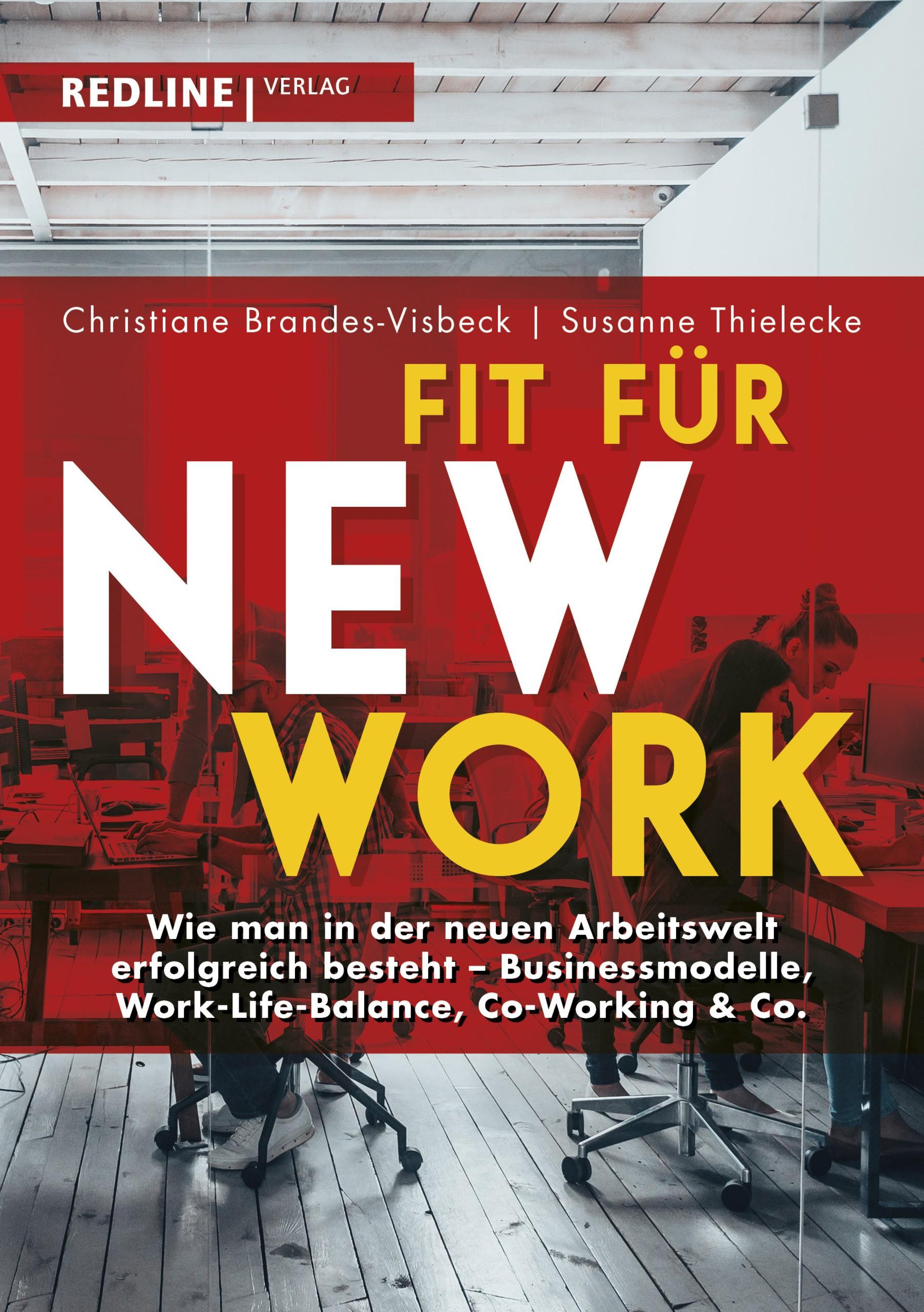 Fit für New Work | Thielecke / Brandes-Visbeck, 2018 | Buch (Cover)