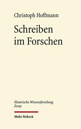 Abbildung von Hoffmann   Schreiben im Forschen   2018   Verfahren, Szenen, Effekte   1