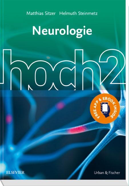 Neurologie hoch2 | Sitzer / Steinmetz (Hrsg.), 2018 | Buch (Cover)