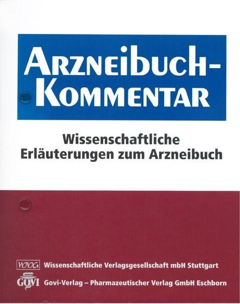 Arzneibuch-Kommentar   Bracher / Heisig / Langguth / Mutschler / Rücker / Schirmeister / Scriba / Stahl-Biskup / Troschütz, 2018 (Cover)